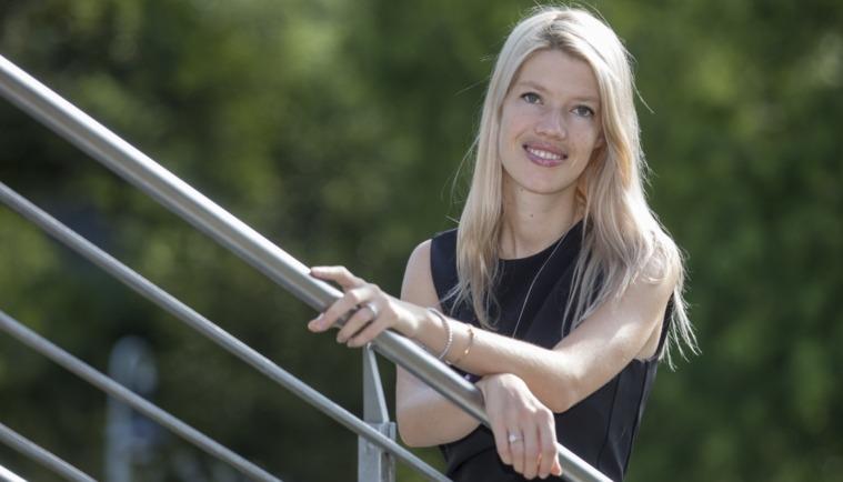Chantal Ostermann ist die Vorstandsvorsitzende des Proud to Care e. V.
